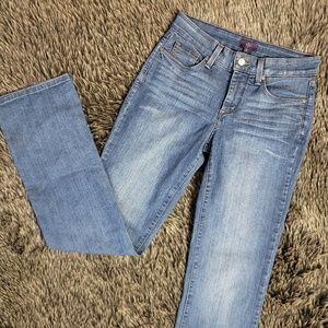NYDJ Bootcut Jeans Mid Rise Medium Wash